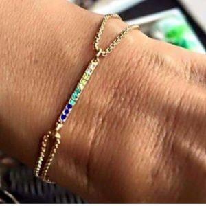 Stella & Dot's Pave Wishing Bracelet. NWT